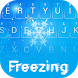Freezing Cold Theme&Emoji Keyboard For Hot Summer