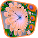Flower clock live wallpaper by Appsoul developers