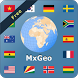 World atlas & world map MxGeo by HPB Labs