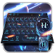 Future Technology Keyboard Theme by M Typewriter Theme Studio