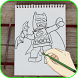 How To Draw Lego Super Heros by B1-games