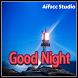 Night Red Cards by aifzcc.studio