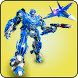 Police Air Robot Transformation Simulator by Game Scapes Inc
