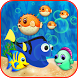 Blue Tang Fish Bubble Shooter by THREE MATCH DIAMOND