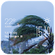 Typhoon weather widget/clock by Widget Innovation