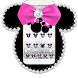 Diamond Minny Bow Theme Wallpaper by NYC Beauty Themes