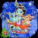Lord Krishna keyboard Theme by Creative Theme Designer