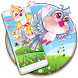 Pink Sky Love Birds Theme by stylish android themes