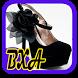 Girl High Heels Design by BXAdesign