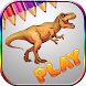 dinosaurs coloring pages t rex by NTP-Developer
