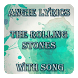 Angie Lyrics The Rolling Stones With Song