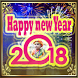 Happy New Year 2018 photo frame by Unique Photo Editor