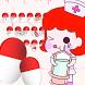 Cute Nurse Pills Against The Virus Keyboard Theme by Brandon Buchner