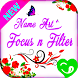 Art Name Focus Filter by Collections