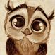 Cute Owl Wallpaper by MomoStudio