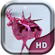 Pink Ice Elk Live Wallpaper by Quentin Country Design