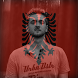 Albania Flag On Face Maker : Photo Editor by Deluxe Company