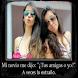 Imagenes de Amigas Con Frases by GanoConApps...