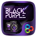 Black Purple GO Launcher Theme by ZT.art