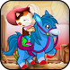 Callie Ride:sheriff on horse by game monster
