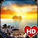 Sunset HD Wallpaper by Ash Tech Apps
