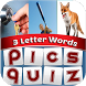 Pics Quiz: 3 Letter Words by Ekume Games