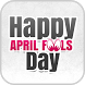 Happy April Fools' Day Cards by QR CREATIVE STUDIO