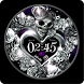 Silver Heart Watch Face by Rooty Pict