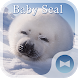 Cute Wallpaper Baby Seal Theme by +HOME by Ateam
