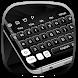 Classic Black White Keyboard