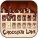 Chocolate Love Theme&Emoji Keyboard by Cool Keyboard Theme Design