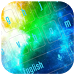 Colorful Galaxy Keyboard Theme by Designer Superman