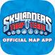 Skylanders Trap Team Map App by Dorling Kindersley
