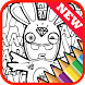 Learn to Draw for Rabbids Fans by New Best Coloring Drawing Inc.