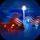 USA Independence Day Theme&Emoji Keyboard
