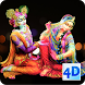 4D Radha Krishna Live Wallpaper by Just Hari Naam