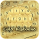 Gold Keyboard by Jack Martin Apps