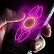 Neon hand fidget spinner by Golden factory rabbits