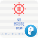 Ocean Blue launcher theme by SK Planet for Launcher Planet Theme