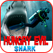 Hungry Evil Shark by HRAY2015
