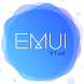 Blue Emui 5 theme for Huawei by ASNA Taj
