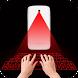 Hologram keyboard simulator by BigBeep