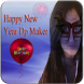 2018 Happy New Year Profile Pic DP Maker