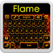 Flame Keyboard by BestThemes