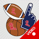 Ole Miss Rebels Selfie Stickers Animated by 2Thumbz, Inc