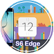 Flip Clock for S6 Edge (Plus) by EHZ Studios