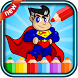 Super hero coloring spider by Developers of games