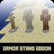 Mod Armor Stand Addon for MCPE by Suwana Vairojana