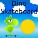 Dino Skateboard by Taranjit Mangat