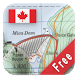 Canada Topo Maps Free by ATLOGIS Geoinformatics oHG